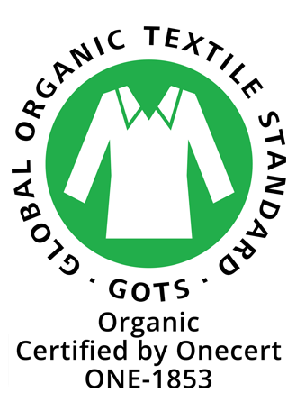 Global Organic Textile Standard - GOTS - Organic - Certified by Onecert - ONE1853